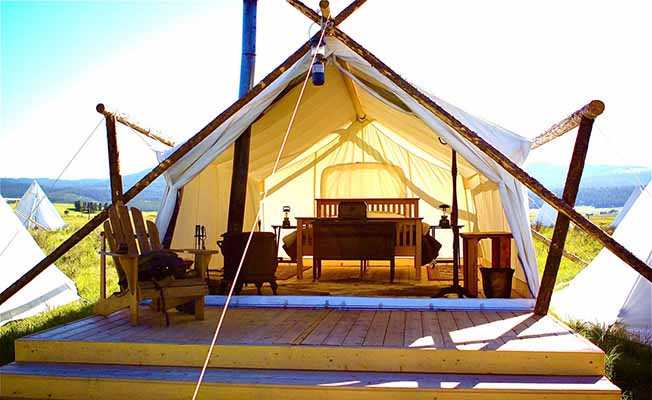 Yellowstone Under Canvas: Glamping profile image