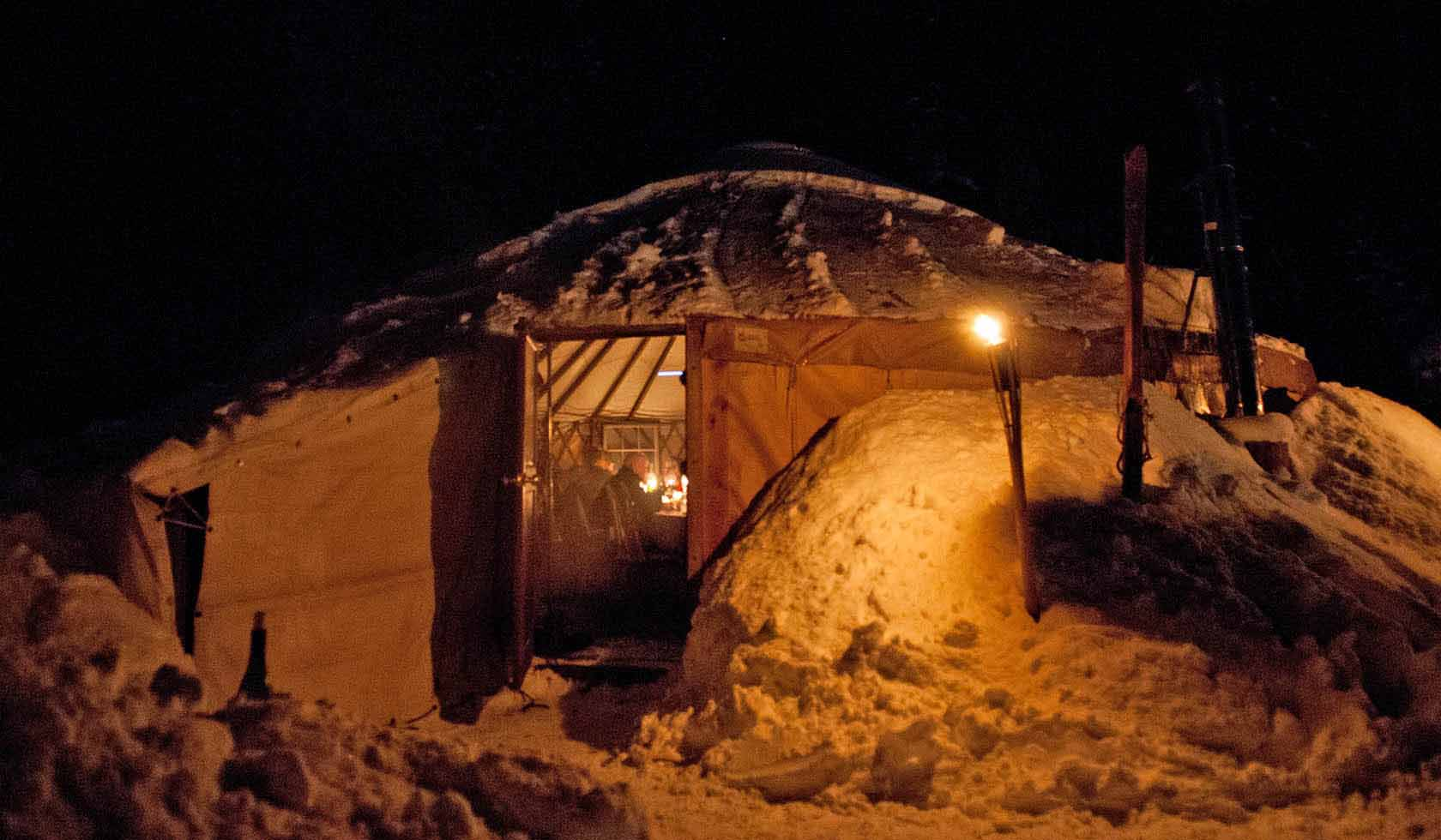 Montana Backcountry Adventures: The Montana Dinner Yurt profile image