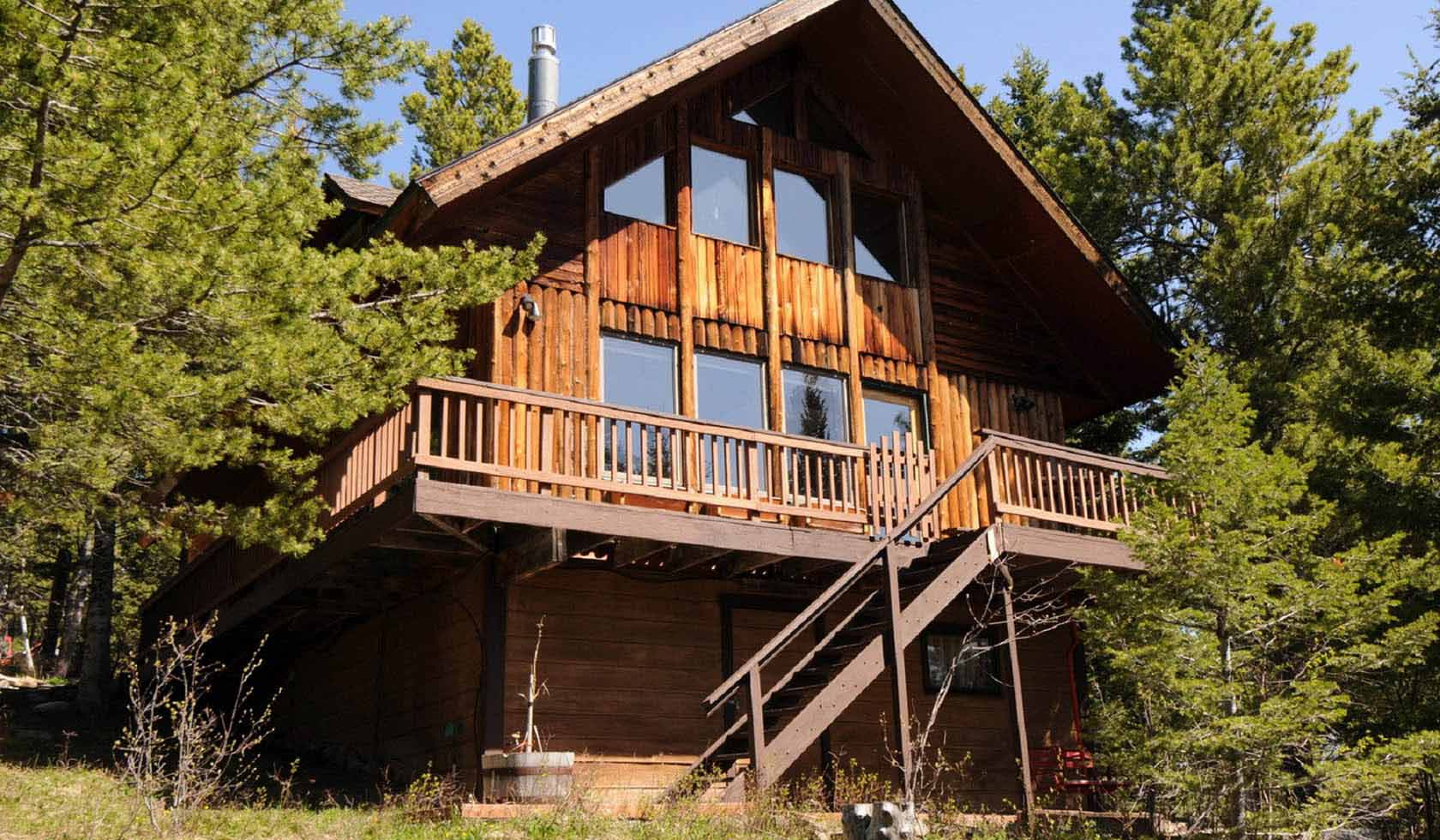 Bridger Mountain Cabin profile image