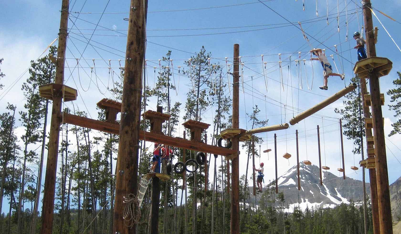 Big Sky Resort High Ropes Course profile image