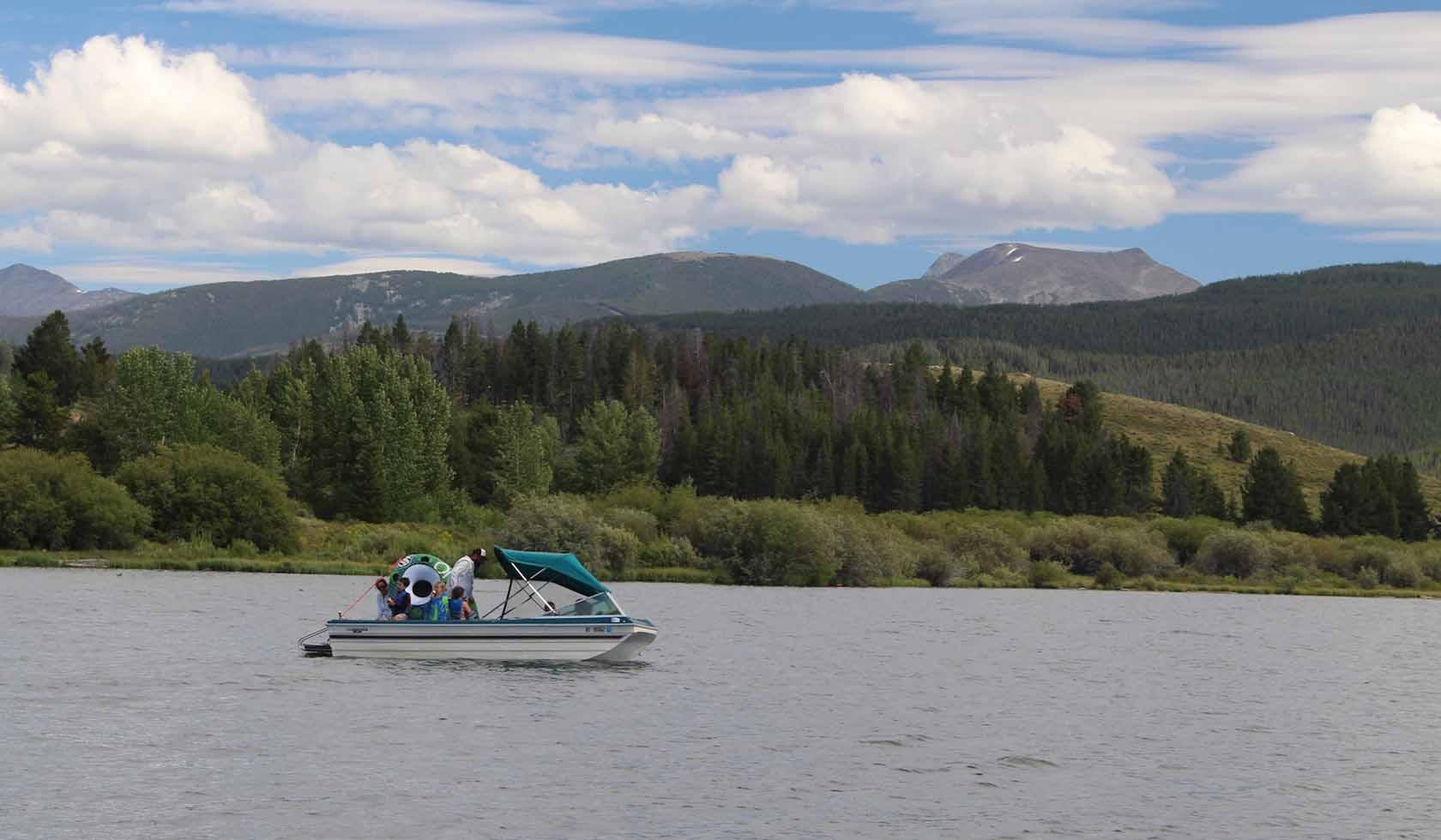Georgetown lake for Lake georgetown fishing