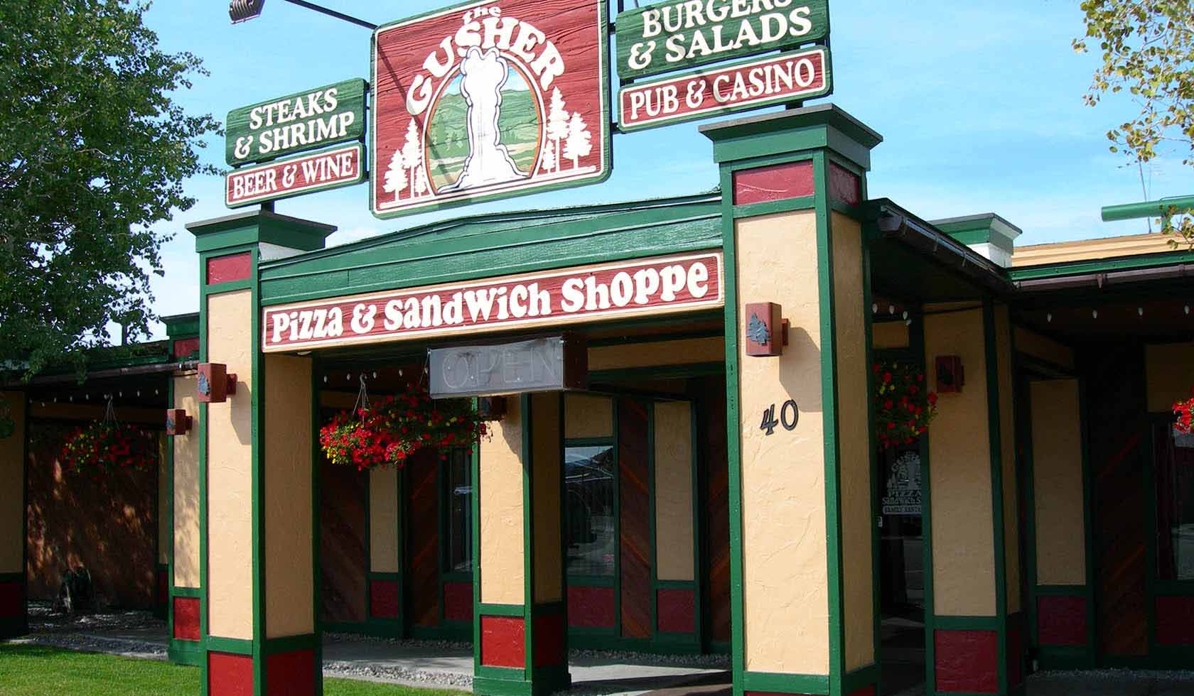 The Gusher Pizza & Sandwich Shoppe profile image