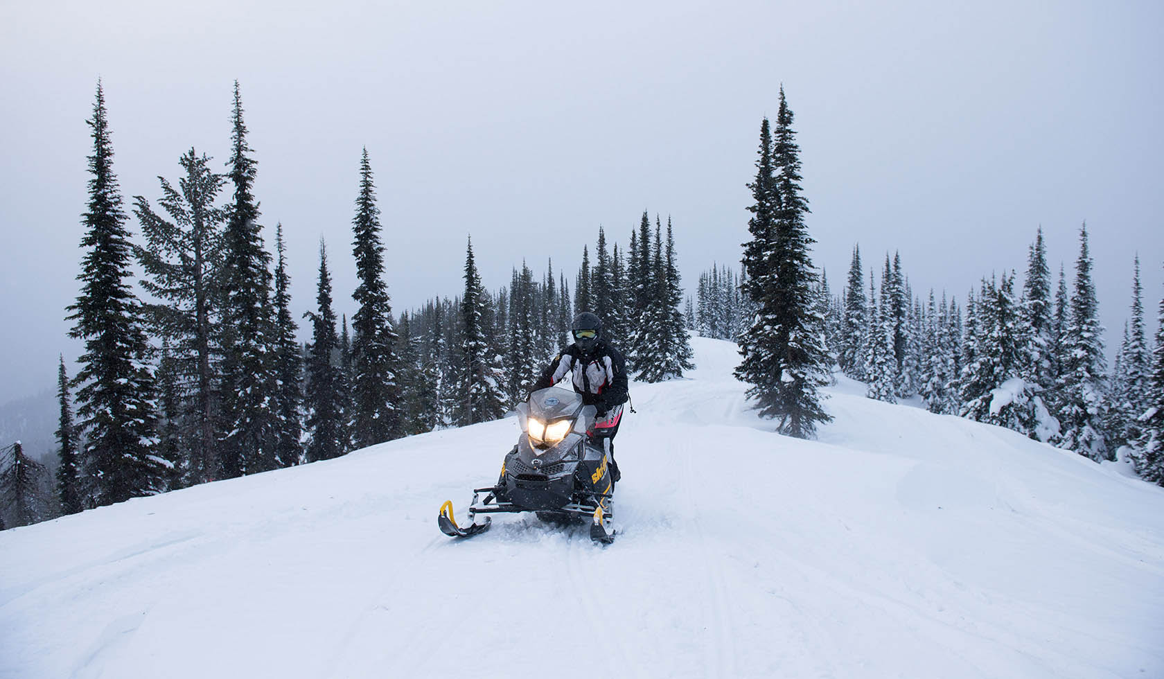 Big Sky Snowmobile Trail profile image