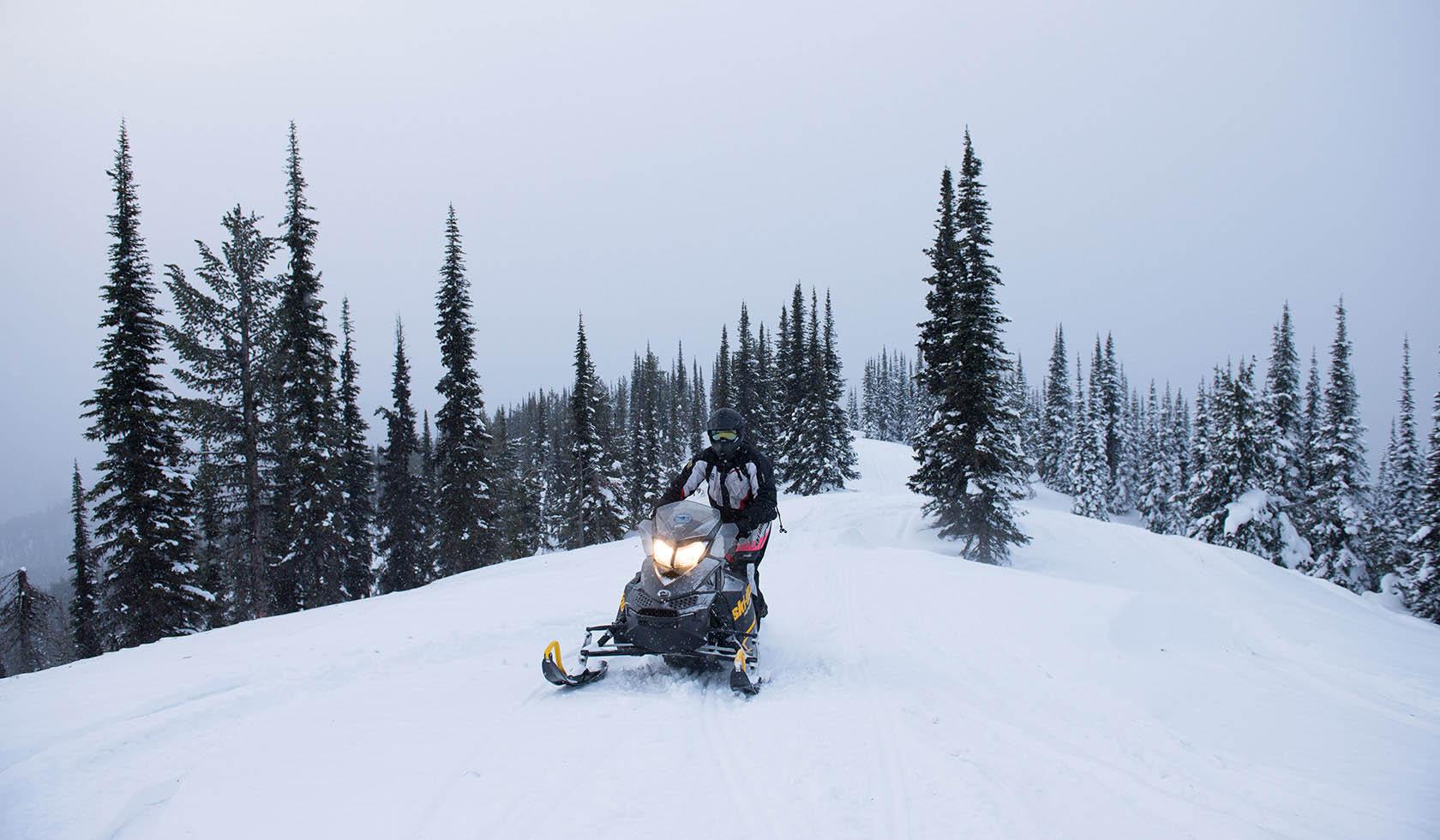 Henderson Mountain Snowmobile Trail profile image